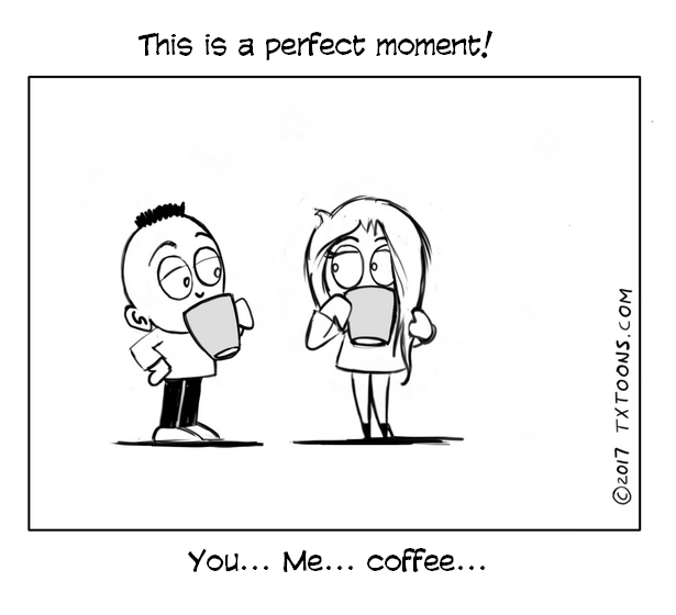 Perfect moment!